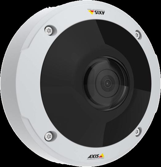 Critical Solutions - Video Surveillance (CCTV) - Axis M3057-PLVE (fish eye)