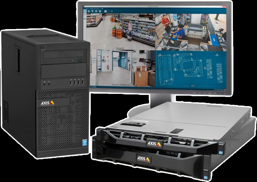 Imagen - Critical Solutions - Video Surveillance (CCTV) - Servidores de grabación en red Axis (NVR)