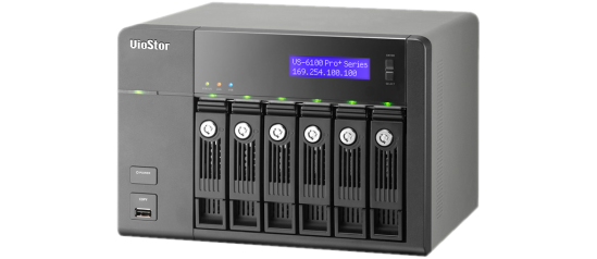 Imagen Principal - Critical Solutions - Video Surveillance (CCTV) - Servidores de grabación NAS - QNAP VS-6100 PRO+ Series