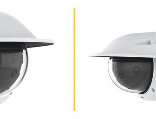 Calidad de imagen perfecta de las nuevas cámaras panorámicas multisensor de la serie AXIS P38