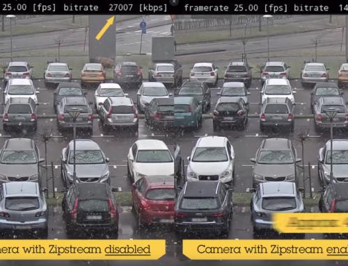 Axis mejora Zipstream para dar respuesta a las necesidades de las nuevas cámaras de 360° y la resolución 4K