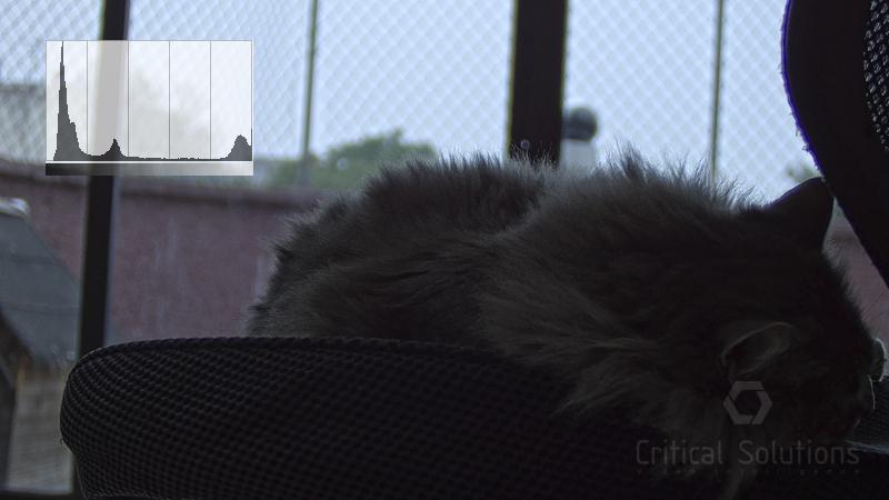 Critical Solutions - Tecnología WDR (Wide Dynamic Range) - Condiciones difíciles de iluminación - Imagen sin WDR - Ricardo Martínez López
